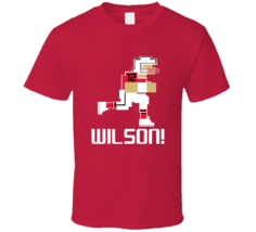 Albert Wilson # 12 Tecmo Bowl Kansas City Football Athlete Fan T Shirt - $20.99+