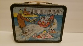 "Vtg. 1974 ""The Addams Family"" Metal Lunch Box NO Thermos GC Vintage Collectible - $89.08"