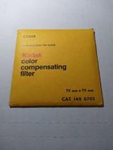 Kodak  color compensating filter CC05R 75x75mm 1496702 - $12.20