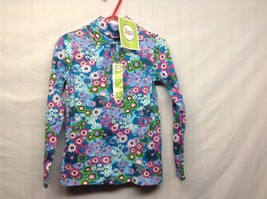 NEW Set Flower Print Pastel Colored Long Sleeve Turtleneck by Circo Sz Girls 5T