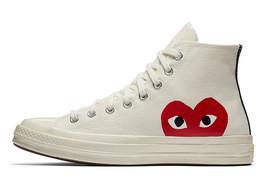 NIB*Converse X Comme de Garcons*Mens*Off White high Top**6-12*Sneaker - $194.00
