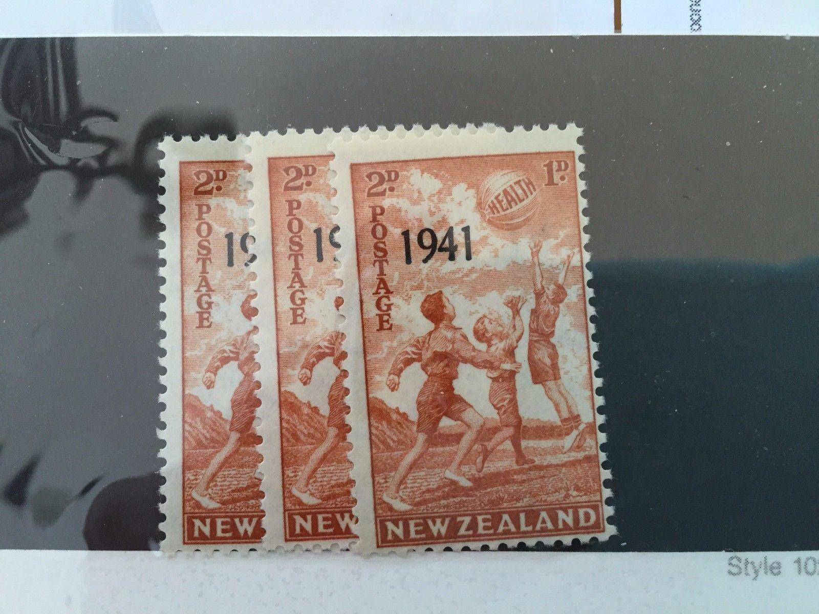 G03 New Zealand Stamps 1936 1941  Souvenir Sheets Boy Girl Scouts Birds 1965