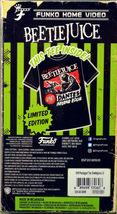 Homme Beetle Juice Funko Home Video VHS Emballé Manche Courte T-Shirt image 3