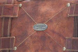Men's Leather Messenger Shoulder Briefcase Bag For Business Work Office Use image 7