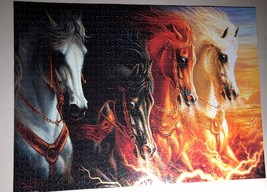 Jigsaw Puzzle 1500 Pieces The Four Horses of the Apocalypse 24 x 33 inch image 4