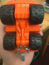 Fisher Price FP Toys 1995 Orange Tow Truck image 3