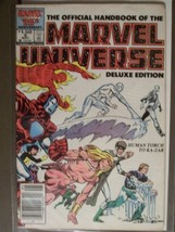 The Official Handbook of the Marvel Universe, Deluxe Edition (Vol. 2 No.... - $9.85