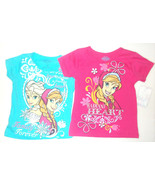 Disney Frozen Girls T-Shirts 2 to Choose From A... - $10.39