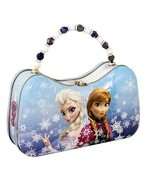 Disney's Frozen Movie Anna and Elsa Girls Scoop Purse Carry All Tin Tote... - $16.40
