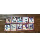 1987-88 YUM QUEBEC NORDIQUES 10 CARD SET PETER ANTON STASTNY MICHEL GOULET - $14.96