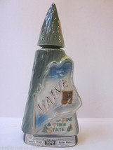 VINTAGE 1970 JIM BEAM MAINE THE PINE TREE STATE COLLECTOR'S BOTTLE EMPTY - $9.99