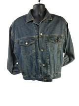 GAP Premium Standard Mens Blue Denim Jean Jacket Button Down - Size Medium - $24.70
