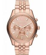 Michael Kors MK8319 Oversized Rose Gold Lexington Chronograph Women's Watch - £71.62 GBP
