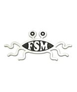 "Premium Solid Metal Flying Spaghetti Monster Car Emblem - 5.2"" (13 cm) - $19.99"