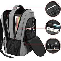 Laptop Backpack,Business Travel Slim Durable Laptops Backpack with USB Charging  image 2