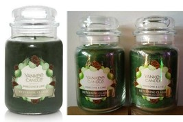 YANKEE CANDLE PINECONE & LIME RETURNING CLAsSIC LARGE JAR -Choice 1 or ... - $22.07