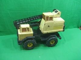 Vintage Yellow Metal Tonka Crane Truck - $70.08