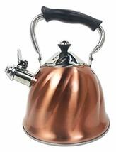 Kitchen Collection 3.2 Quart Copper Swirl Kettle 09321 - $67.66