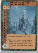 Fortress of the Arcanaloth - Blood Wars Collectible Card Game - TSR  Bat... - $0.97