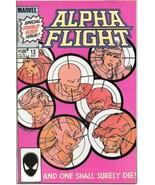 Alpha Flight Comic Book #12 Marvel Comics 1984 VERY FINE+ NEW UNREAD - $3.25