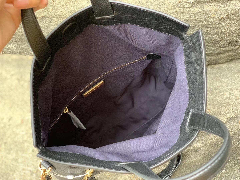 Tory Burch Half-Moon Convertible Fold-Over Cross-Body Bag
