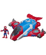 Super Hero Adventures Playskool Heroes Marvel Spider-Man Jetquarters - $49.99