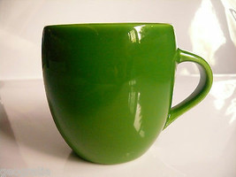 Starbucks 2005 Green Apple Emerald Rounded Mug Cup - $19.24