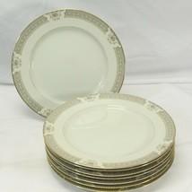 """Mikasa Richelieu Dinner Plates 10.75"""" Lot of 8 - $39.19"""