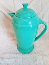 FIESTA Green Insulated Thermal Thermos Pitcher Decanter Carafe Plastic G... - $31.92