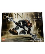 Lego Bionicle Panrahk 8587 Instruction Manual Booklet Only - $11.69