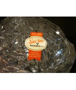 Anna Hutte Bleikristall Bowl Rose Clear  Candy Dish & Lid - $14.99
