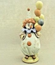Llardo  Clown Figurine 5811 Balloons Spain Dasia 1990 - $85.00