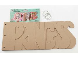 "Nicole Crafts Build a Memory ""Princess"" Chipboard Album #MEM5407"