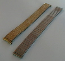 Vintage Speidel Lot of 2 USA Expanding Men's Watch Straps - $49.99