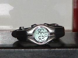 Pre-Owned Women's Armitron 45/6963 Black & Silver Digital Watch - $9.41