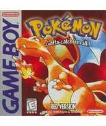 Pokemon Red Version Gameboy Great Condition Fast Shipping - $49.93