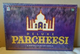 NEW 1999 Milton Bradley Deluxe Parcheesi A Royal Game Of India Board Gam... - $58.15