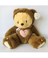Cherished Teddies Plush Bear Grumps 790613 in Brown Bear Costume w/ Hear... - $48.37