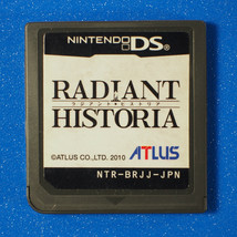 Radiant Historia (Nintendo DS, 2011) Japan Import - $7.45