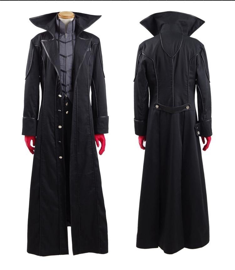 Persona 5 Dancing Star Night Joker Protagonist Akira Kurusu Cosplay Costume Suit