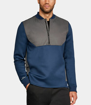 MENS UNDER ARMOUR UA UNSTOPPABLE GORE-TEX WINDSTOPPER 1/2 ZIP WATER REPE... - $61.78