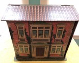 RARE e.1900's Cardboard Chromolithograph Fold Up Dollhouse 2 Story McLoughlin ?