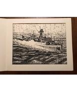 Vintage Print of US Navy Dock Landing Ship USS FORT FISHER LSD-40 - $27.93