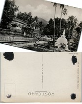 1930s Sri Lanka Ceylon Temple of the Holy Tooth Kandy VINTAGE POSTCARD - $9.99