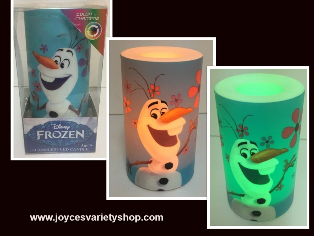 Olaf candle web collage
