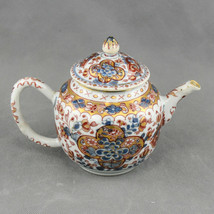Chinese Porcelain Teapot, Kangxi Period, Imari Decoration, 17th / 18th c... - $581.73