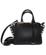 New Fendi 3Jours Mini Black Leather Pearl Detail Messenger Bag - $2,793.00