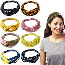 NTBOKW Headbands for Women Girls Hair Bands Elastic Fashion Headband Cri... - $11.55