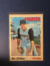 1970 Topps Joe Gibbon #517 EX-Mint to Nr-Mnt Condition - $3.50