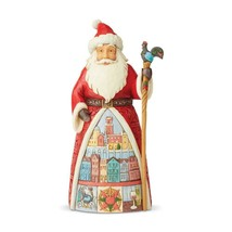 """Portuguese Santa from Jim Shore Around the World Collection 7.1"""" High Christmas image 1"""